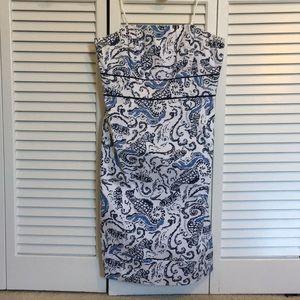 Like New! Vineyard Vines Strapless Dress